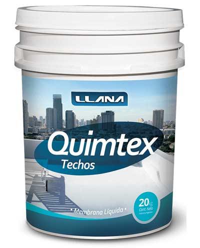 Quimtex Techos Acrílico Poliuretano